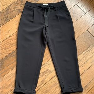 Sz 0 Wilfred front tie pant EUC